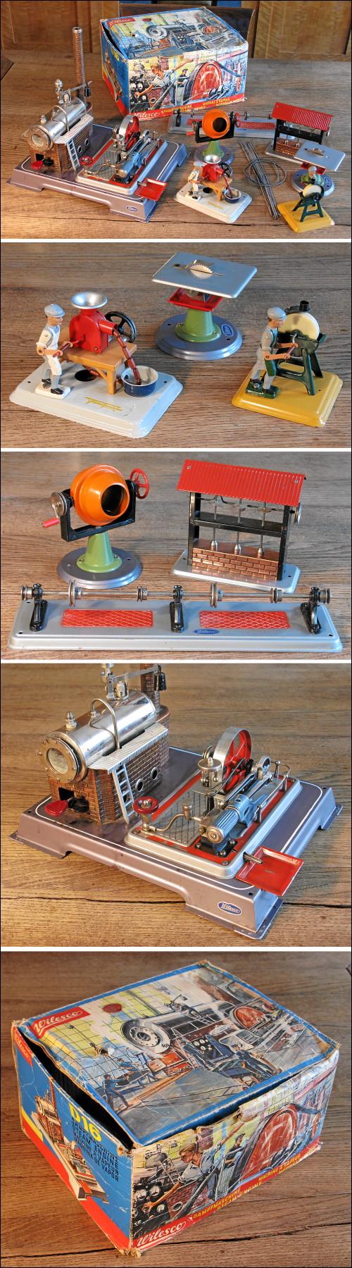 Dampfmaschine Wilesco D16 samt Zubehör
