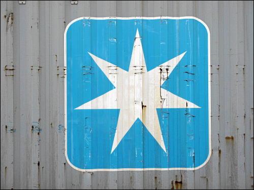 Container der Mærsk Line