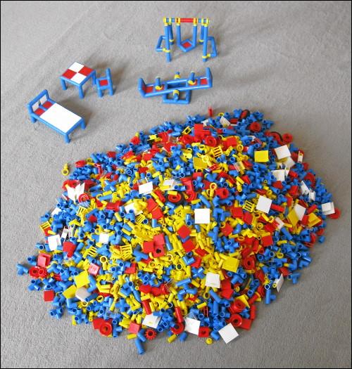 5 kg Plasticant-Bauteile