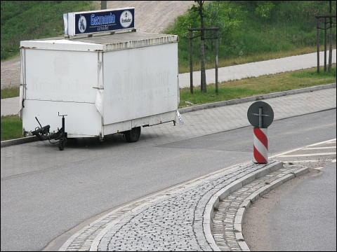 ambulanter Imbißverkaufswagen (Hamburg-Wilhelmsburg)