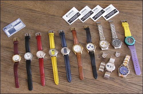 zonebattler's beherzt aufgelöste Uhrenkollektion