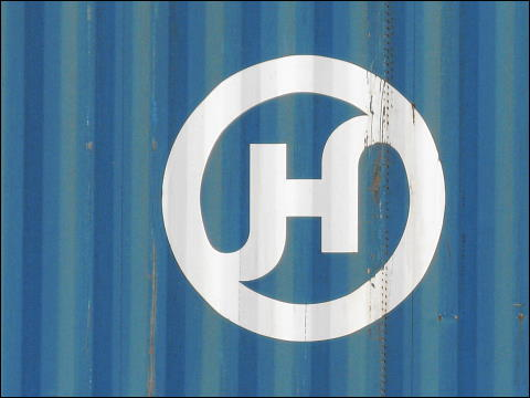 Container der Hanjin Shipping Co., Ltd.