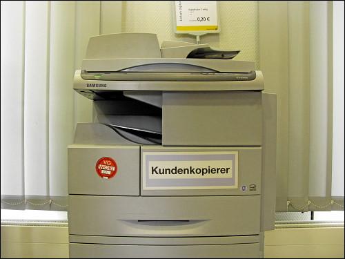 »Kundenkopierer« in der Nürnberger Hauptpost