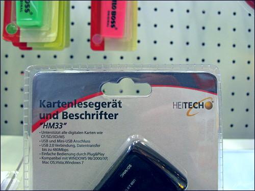 »Kartenlesegerät und Beschrifter«