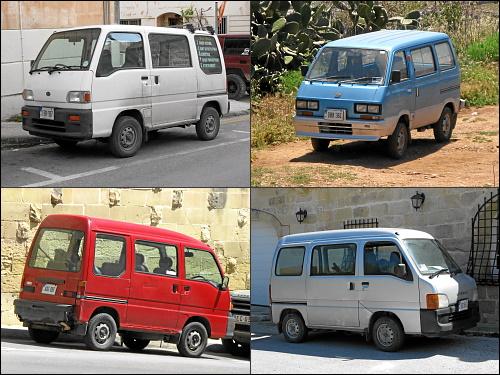 Praktisch und beliebt: Subaru-Renngurken in allen Varianten
