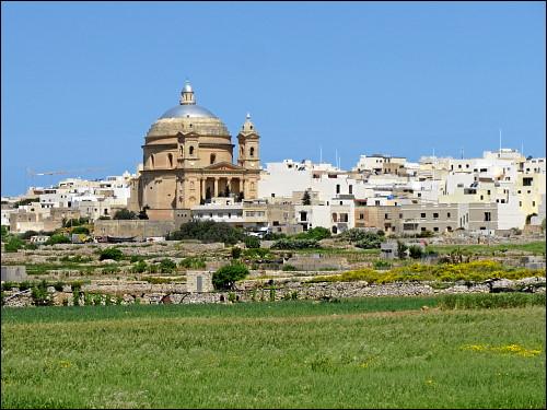 Und noch einmal: die Kuppelkirche Sta. Maria in Mġarr