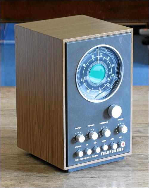 Receiver Telefunken HiFi Compact 2000 (Baujahr ca. 1970)