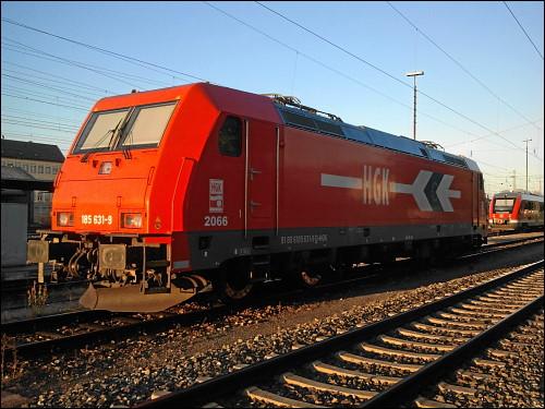 BR 185 der Häfen und Güterverkehr Köln AG