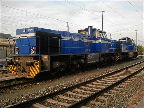 Vossloh G 1206 der InfraLeuna