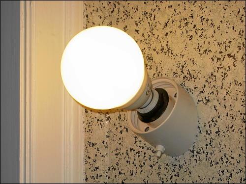 mehr als nur ein Notbehelf: die neue Kugellampe