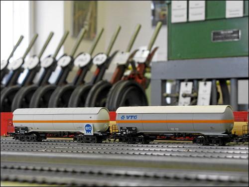 im Eisenbahn-Betriebsfeld Darmstadt (EBD)