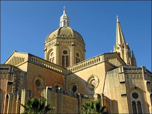 Die Pfarrkirche von Għajnsielem