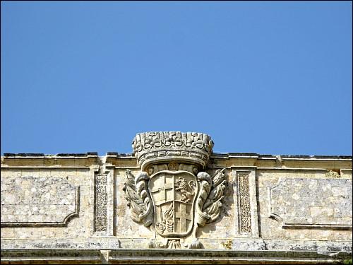 Detail am Verdala Palace