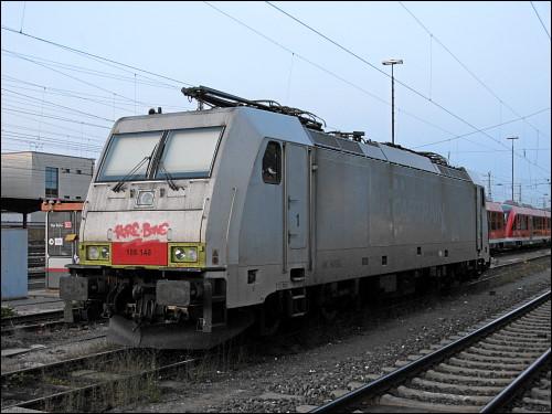 Lok 186 148 der Captrain Deutschland GmbH