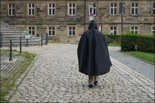 ein trüber Regentag in Bamberg