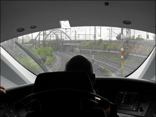 Mit der Baureihe 407 in geschlossener Gesellschaft unterwegs