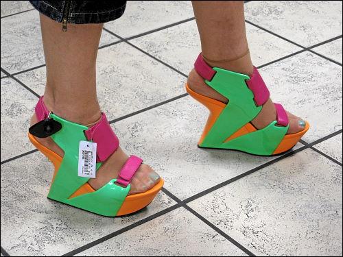 schrill-schräge Schuhe