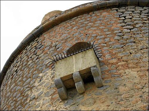 Die Torre Picada von unten betrachtet