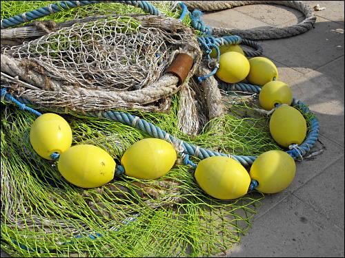 Fischernetz samt Zubehör in Port de Sóller