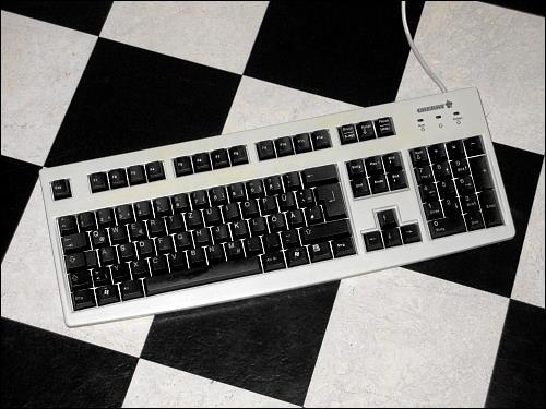 umgebaute Tastatur Cherry RS 6000 M
