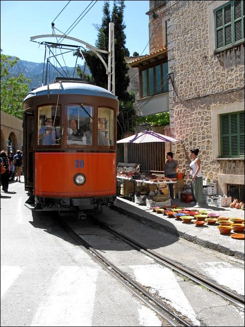 Straßenbahn in Sóller