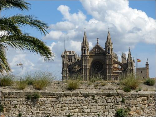Kathedrale La Seu im Süden der Altstadt von Palma