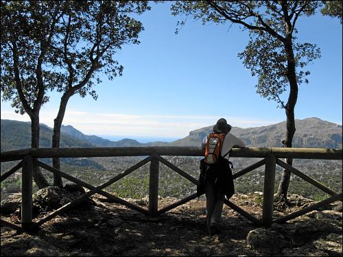 Blick hinab ins Tal von Lluc