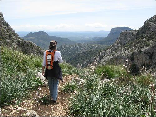 auf der Tour rund um den Puig des Tossals Verds