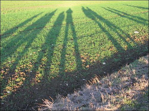 Kleines Klassentreffen: Wanderung mit Schulfreunden bei Kirchröttenbach