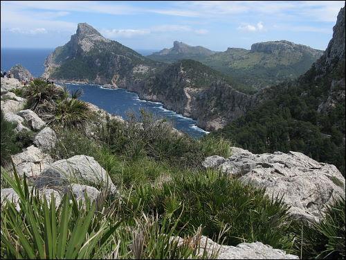 Aussichtspunkt auf dem Weg nach Cap Formentor