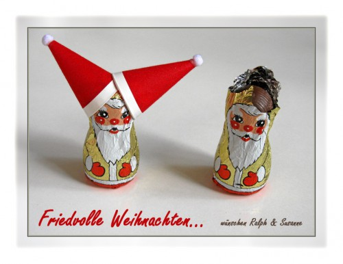 Weihnachtsgruß 2011 - Seid nett zueinander!