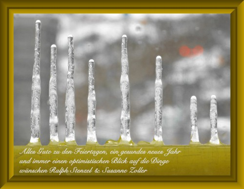 Weihnachtsgruß 2012 - Nur nicht hängen lassen!
