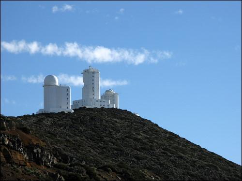 Observatorien in der Nachbarschaft des Teide