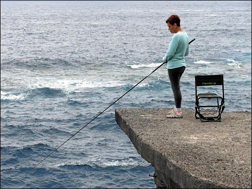 Fischerin bei Garachico