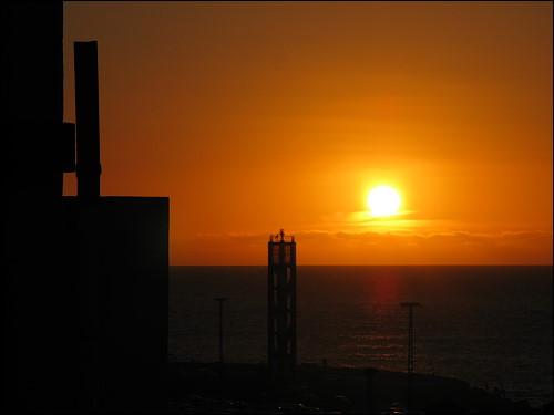 Sonnenuntergang am letzzten Abend auf Teneriffa