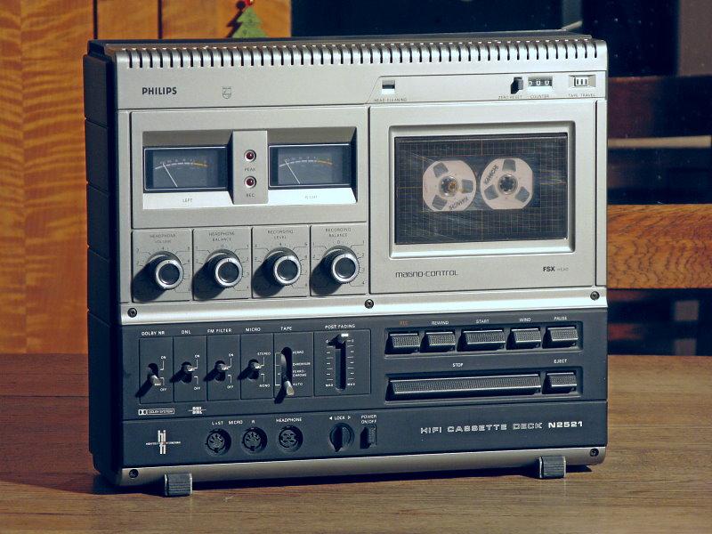 Kassettendeck Philips N2521