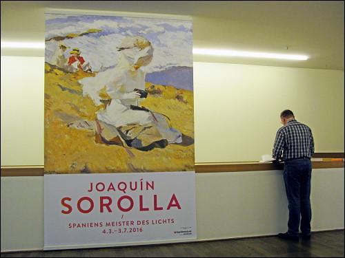 In der Ausstellung 'Joaquín Sorolla / Spaniens Meister des Lichts'