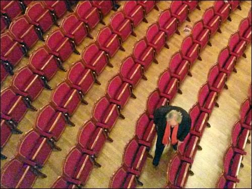 Aufführungspause im Fürther Stadttheater
