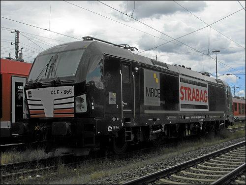 Siemens Vectron 193 865-3 der STRABAG AG