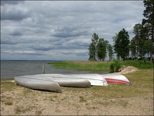 Bucht am Campingplatz Fiskeboda