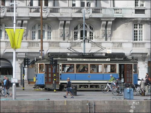 Straßenbahn in Stockholm