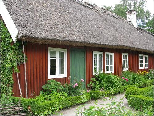 altes Schwedenhaus im Skansen