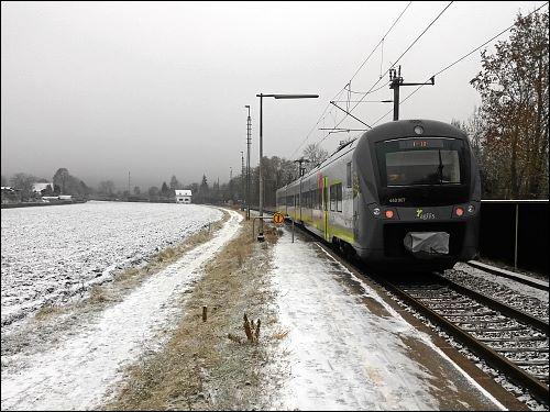 winterliche Impressionen aus Regensburg-Prüfening