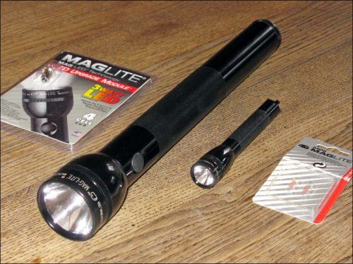 MagLite-Taschenlampen (Foto: Ralph Stenzel)