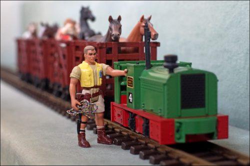 LGB-Feldbahnzug