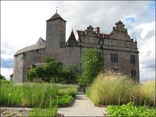 Die Burg Cadolzburg zu Cadolzburg