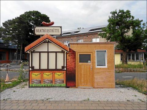 Imbißbude in Fürth-Atzenhof