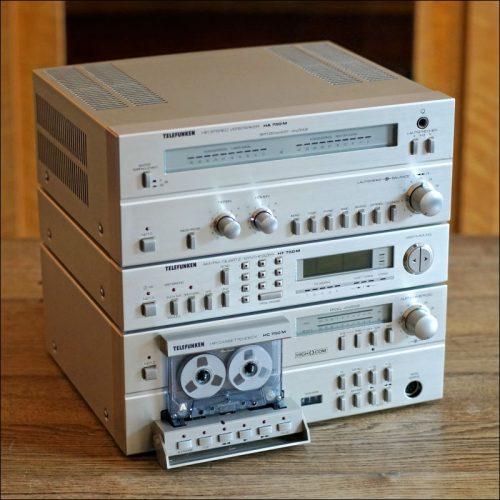 Telefunken HiFi-Mini-Anlage H 750 M