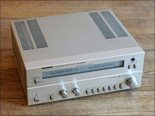 Telefunken HiFi-Mini-Verstärker HA 750 M