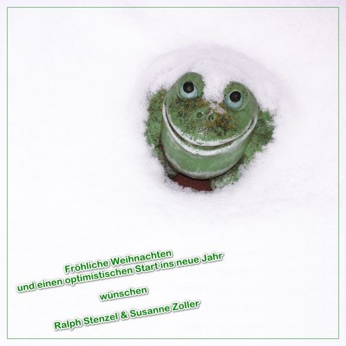 Weihnachtsgruß 2017 - Don't worry, be happy!